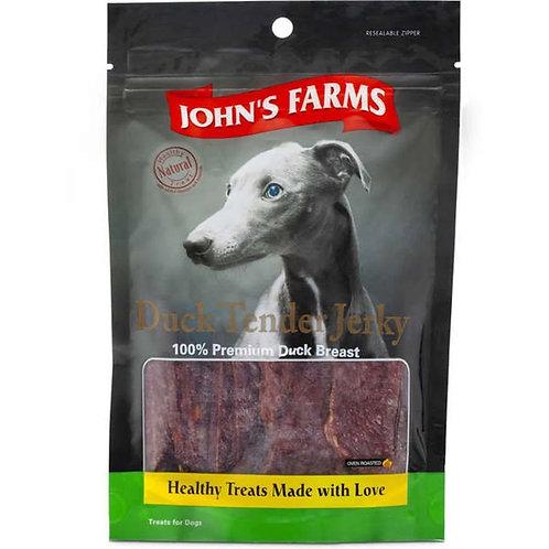 Petisco Johns Farms Filé de Peito de Pato Desidratado 100 g