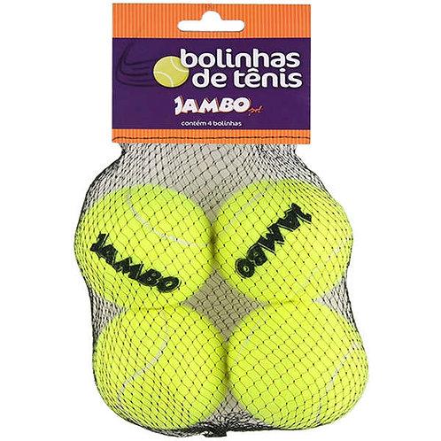 Brinquedo Jambo Bolinhas de Tênis Amarela