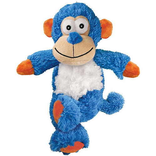 Brinquedo KONG Knots Monkey NKX Azul para Cães