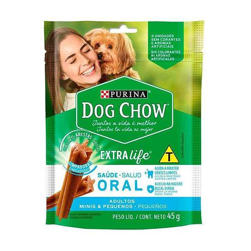 Petisco Dog Chow Extra Life Saúde Oral Purina para Cães