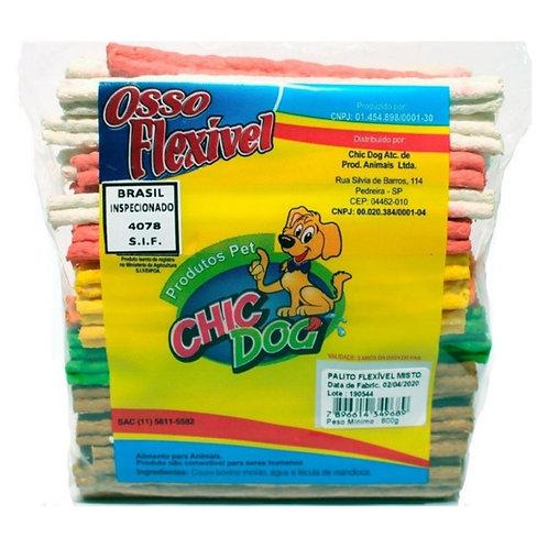 Palito Flexível Misto Chic Dog 800g