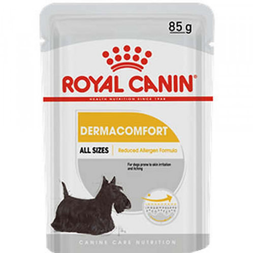 Ração Úmida Royal Canin Dermacomfort Sachê Cães Adultos 85 G