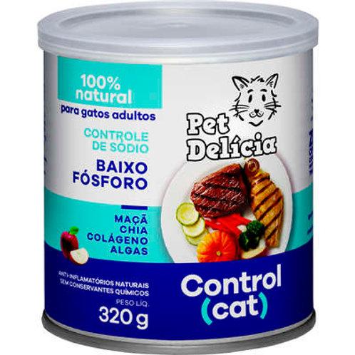 Ração Úmida Pet Delícia Control Cat Baixo Fósforo