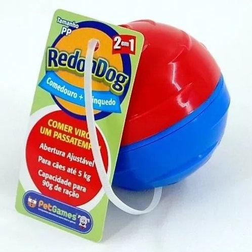 Brinquedo Dispenser para Ração ou Petisco Redondog Pet Games PP