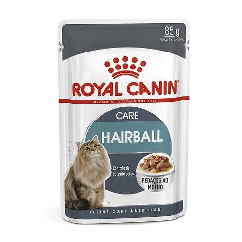 Ração Royal Canin Sachê Feline Hairball Care Eliminação de Pelos Ingeridos