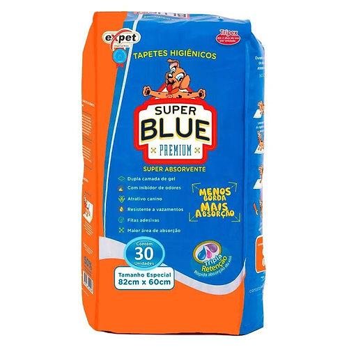 Tapete Higiênico Super Blue Premium - Expet - 30 Unidades
