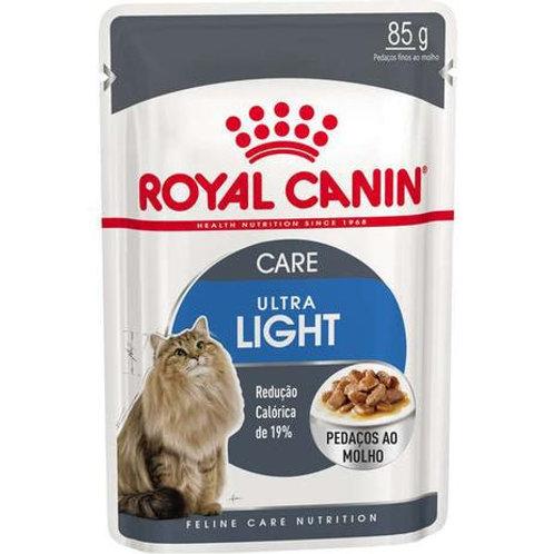 Ração Royal Canin Sachê Para Gatos Ultra Light 85g