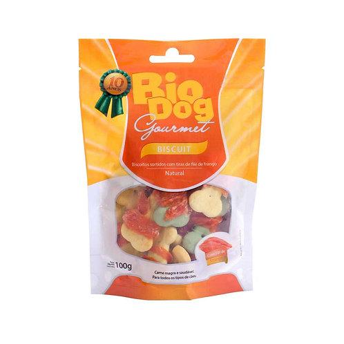 Petisco Gourmet Biscuit Bio Dog 100g