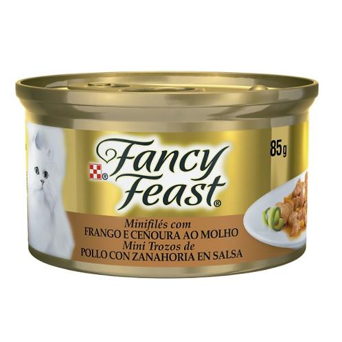 Alimento Umido Fancy Feast Frango E Cenoura 85G
