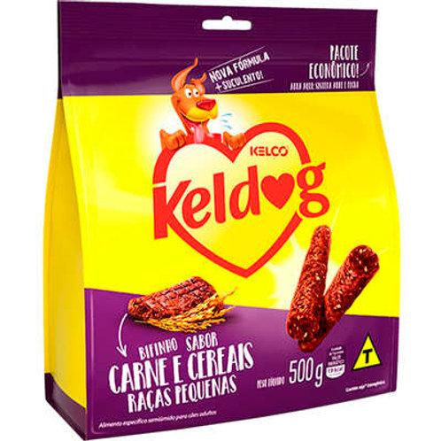Bifinho Kelco Keldog Criadores Carne e Cereais Raças Pequenas 500g