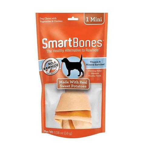 Ossinho para Cães Smartbones Sweet Potato Mini 16g