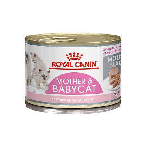 Ração Royal Canin Lata Mother Baby Cat Gatos Filhotes 195g