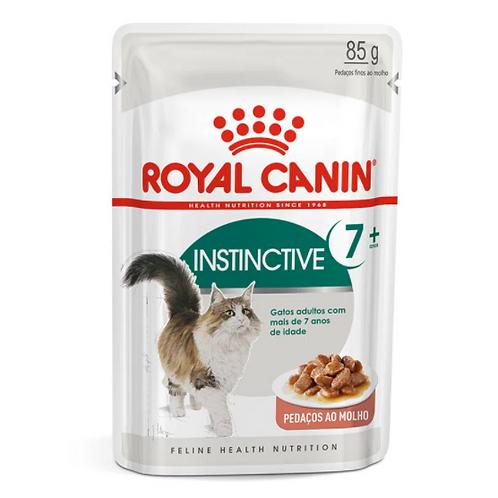 Alimento Úmido Royal Canin Gatos 7+ Instinctive 85g