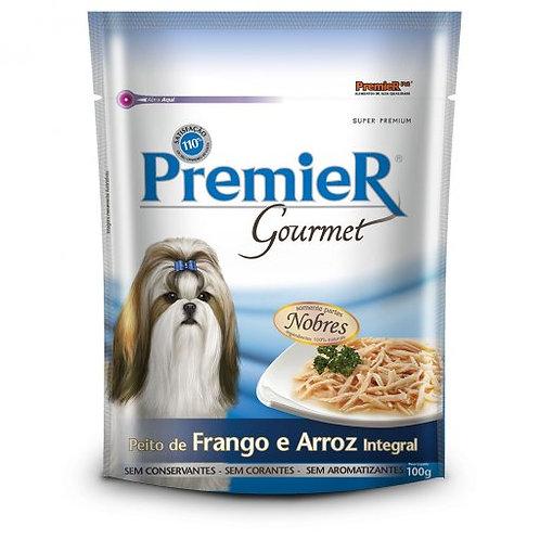 Sachê Premier Gourmet Para Cães Adultos Sabor Peito de Frango e Arroz integral 1