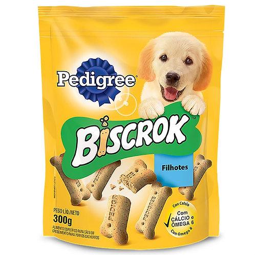 Biscoito Pedigree Biscrok Cães Filhotes 300g