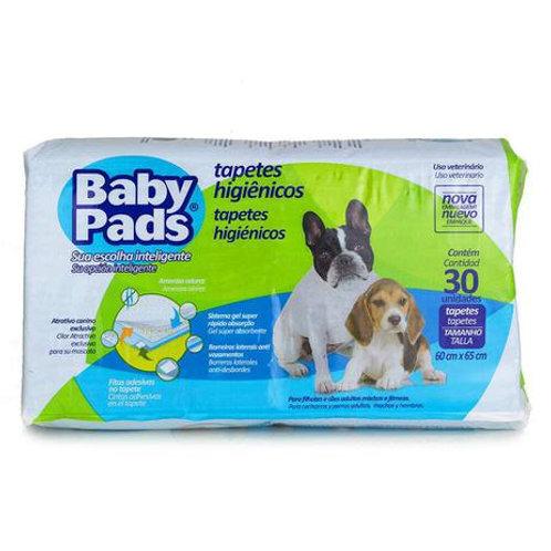 Tapete Higiênico Cães Baby Pads C/30 Unidades