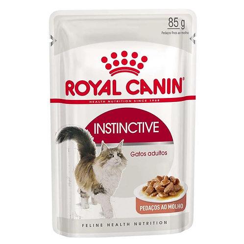 Alimento Úmido Sachê Royal Canin Instinctive Gatos Adultos 85g