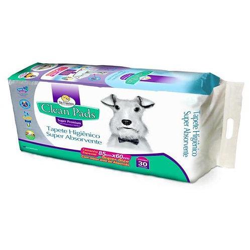 Tapete Higiênico Clean Pads Super Premium 30 un