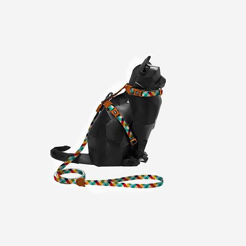 Peitoral com guia para gatos  Phantom