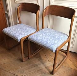 Réfection chaises Baumann