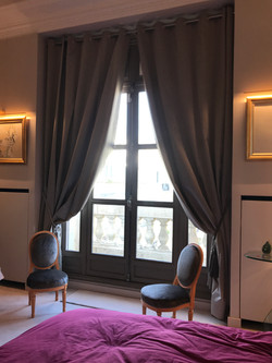 Confection rideaux, réfection sièges