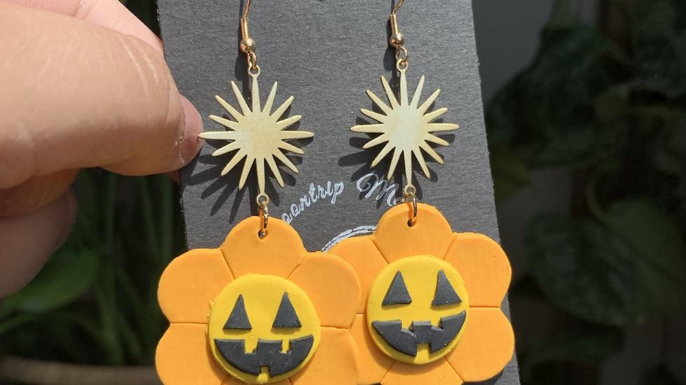 Springoween Earrings | orange