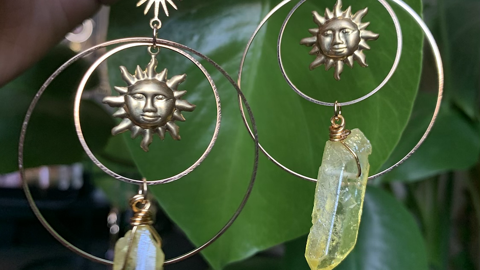 Here Comes the sun earrings