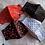 Thumbnail: Red hearts black facemask