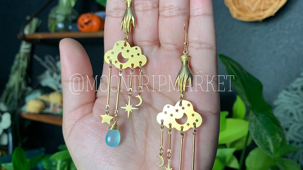 Counting Stars earrings