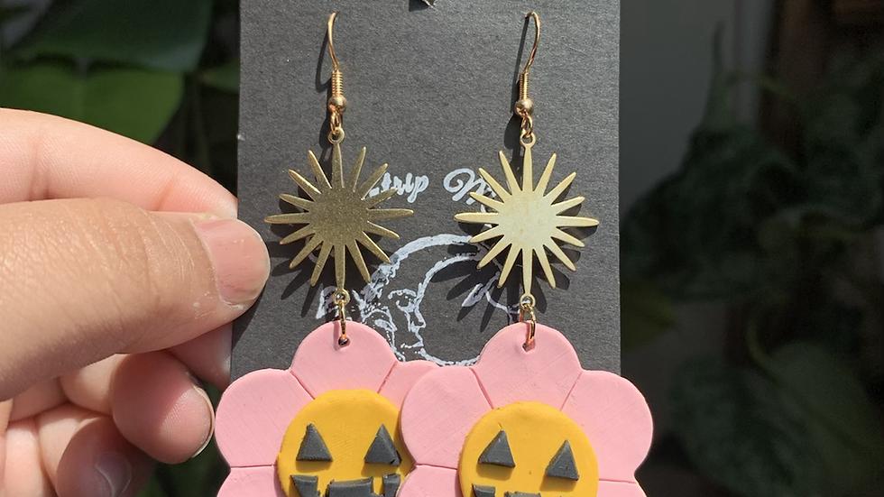 Springoween earrings | pink