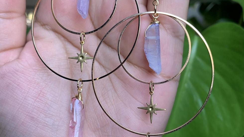 Celestial Goddess earrings