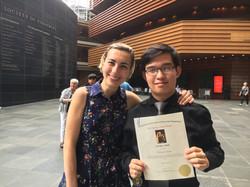 Kimmel Center - Michael Zhou (Dr. Kislitsyna's student), winner of Young Classical Virtuosos of Tomo