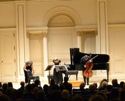 Carnegie Hall Concert of Trio Casals