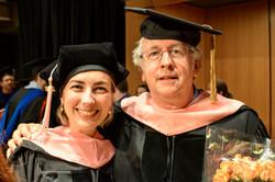 Anna Kislitsyna's graduation - D.M.A. at Temple University (PA)