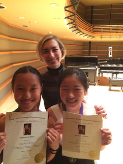 Kimmel Center - Dr. Kislitsyna's students - Grand Prix winners of Young Virtuosos of Tomorrow Compet