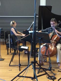 Parma Recording - Sonata of Bruce Babcock for Cello and Piano (Anna Kislitsyna and Ovidiu Marinescu)