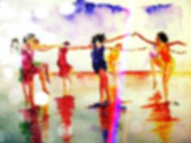 tableau femmes dansant de CahtyScotto.jp