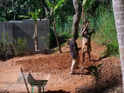 hardworking gardener