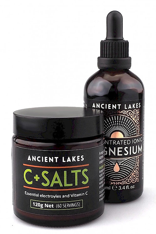 C+Salts Kakadu Plum Mineral Support Powder Bundle