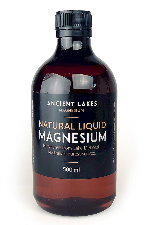 Concentrated Ionic Magnesium Liquid 500ml refill