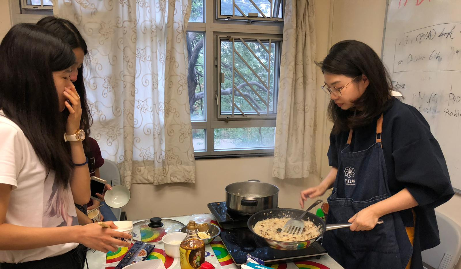 Dormitory Cooking Class: City U Hall 2