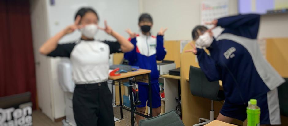 他塾の先生が三重進学ゼミへ見学に来られる