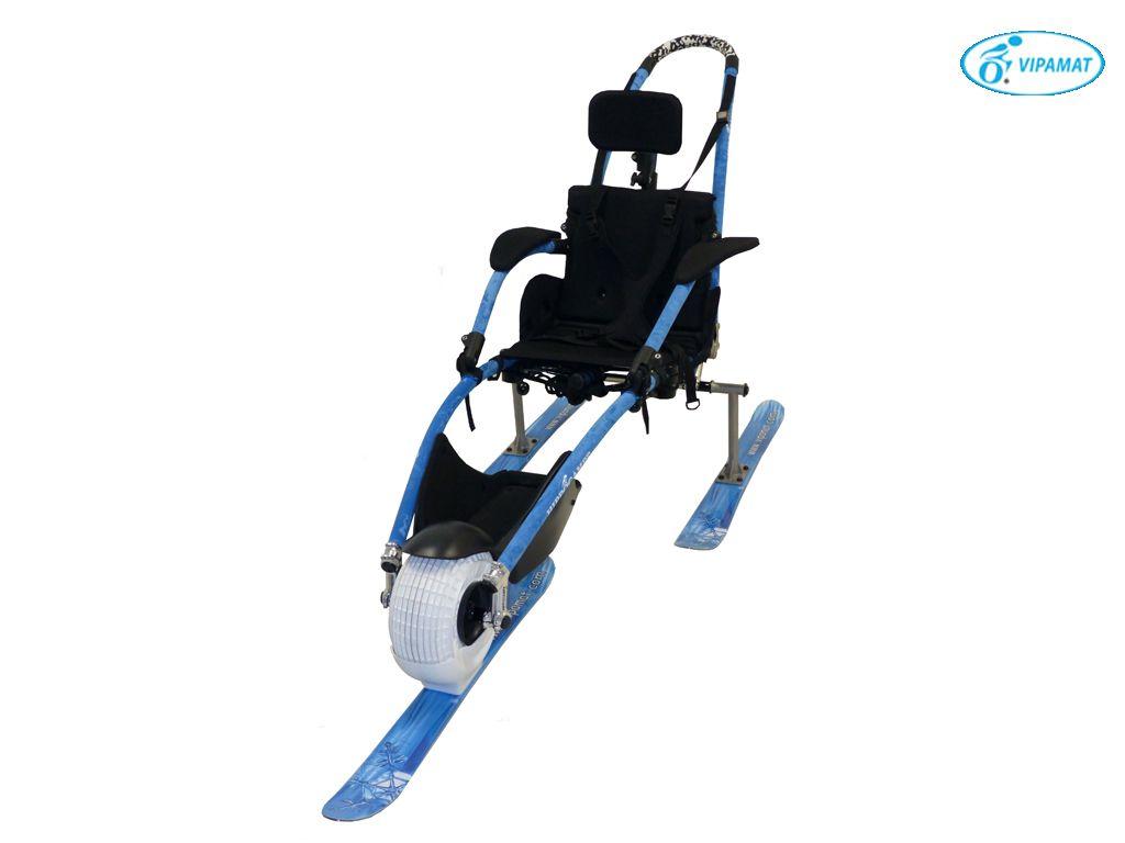 כסא גלגלים לשלג