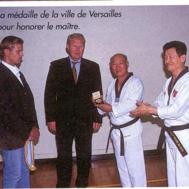 TAEKWONDO CHOC N°28 ANNEE 2000
