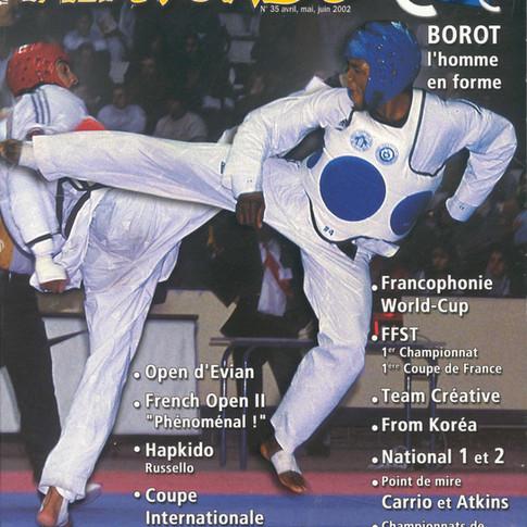 TAEKWONDO CHOC N°35-ANNEE 2002