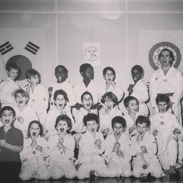 VERSAILLES TAEKWONDO 1995 OMAR ET BENOIT