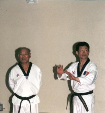 TAEKWONDO VERSAILLES 2000-2001