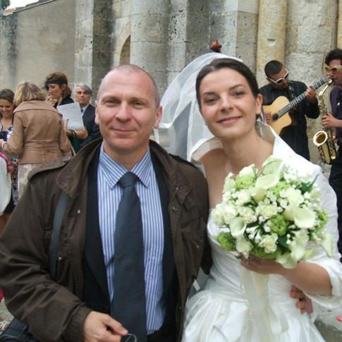 MARIAGE LAETITIA GAUBERT 1°DAN FEDERAL