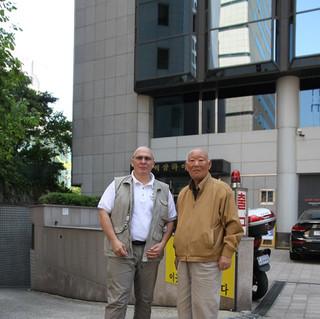 GM Park Hae Man et Bruno Tambouez SEOUL