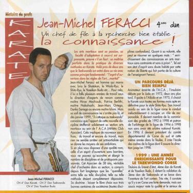 JEAN MICHEL FERACCI YOSEIKAME BUDO